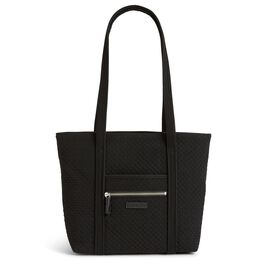 Vera Bradley Iconic Small Tote Bag in Classic Black, , large