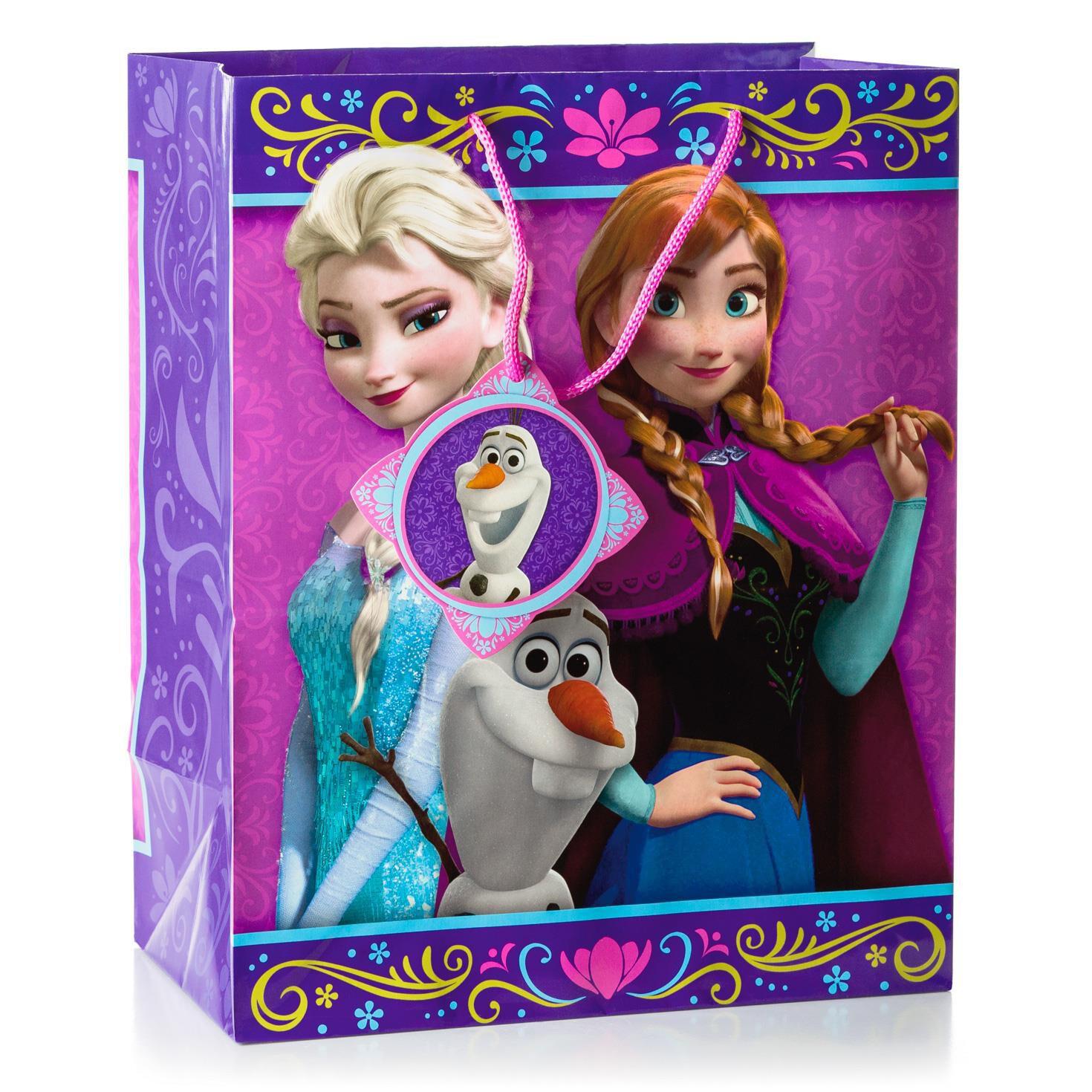 "Disney Frozen Gift Bag 13"" Gift Bags Hallmark"