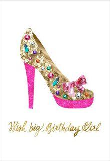 Wish Big Birthday Card,