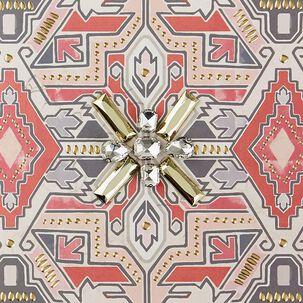 Geometric Mosaic Blank Card
