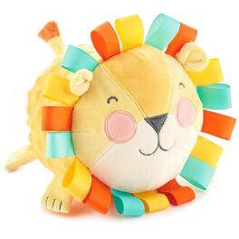 "Lion Stuffed Animal Chime Ball, 5.5"", , large"