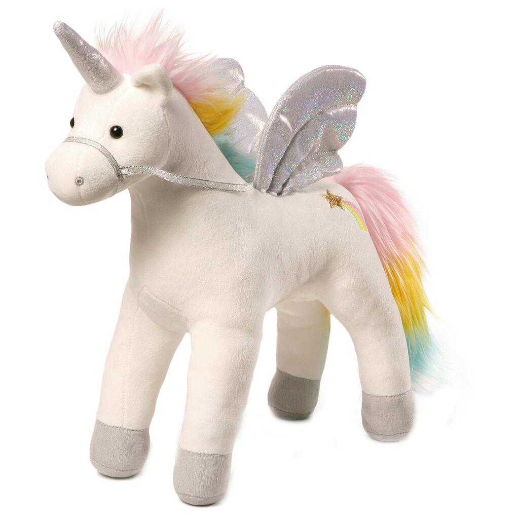 Gund Magical Unicorn Stuffed Animal With Sound And Light 17