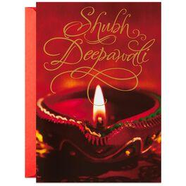 Shubh Deepawali Diwali Card, Pack of 6, , large