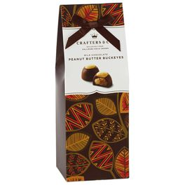 Milk Chocolate Peanut Butter Buckeyes in Gift Box, 6.5 oz., , large