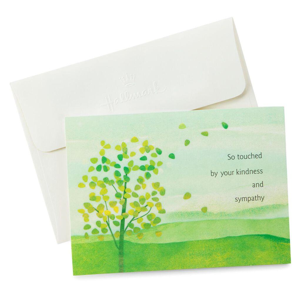 sympathy thank you notes pack of 10