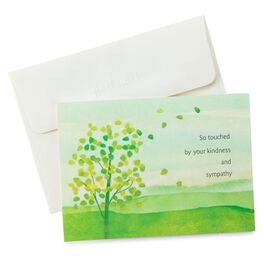 Sympathy Thank You Notes, Pack of 10, , large