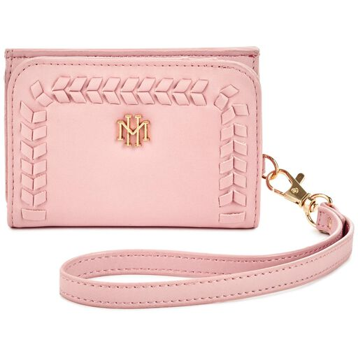 0597b95ebc9 Mark   Hall Blush Trifold Wallet