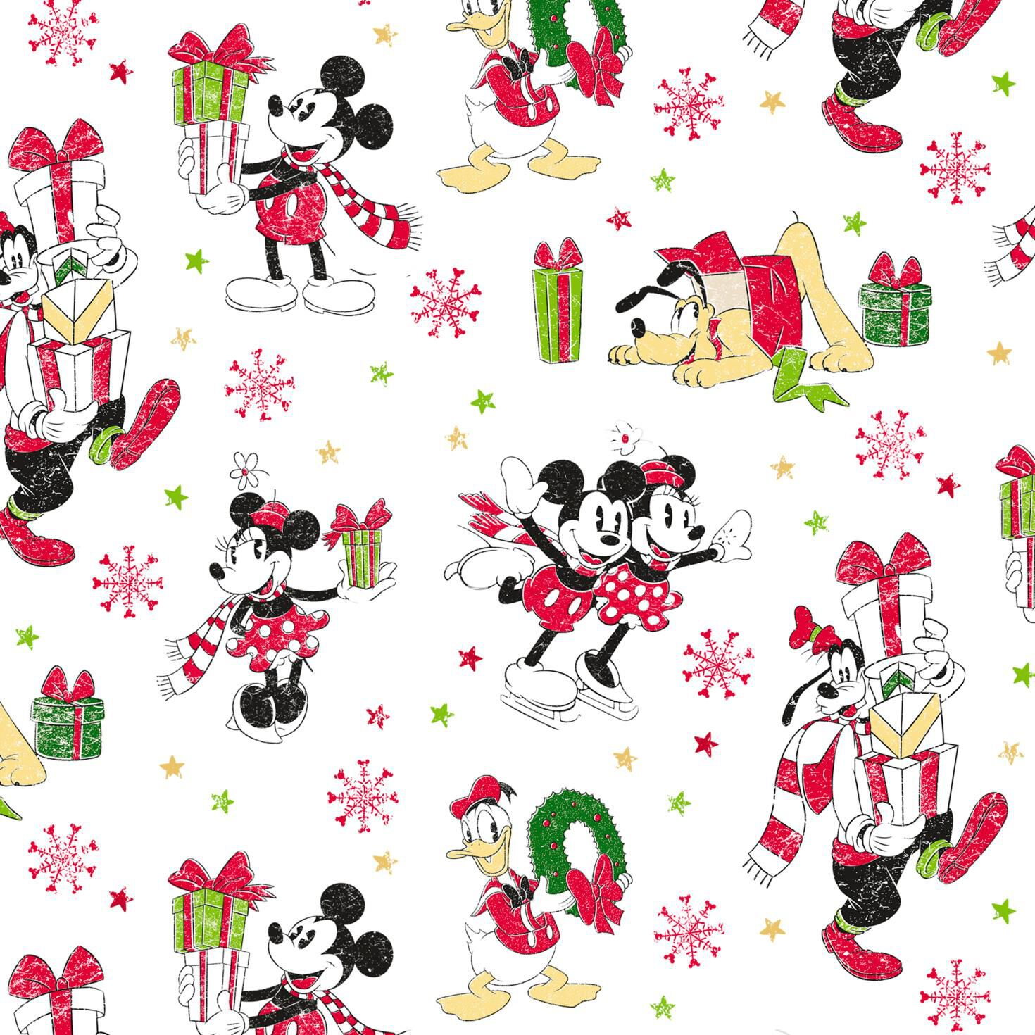 disney mickey mouse and friends jumbo christmas wrapping paper roll 80 sq ft wrapping paper hallmark
