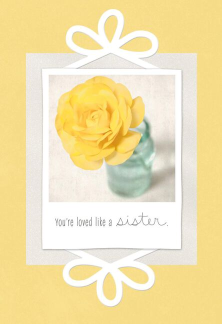 Loved Like A Sister Birthday Card For Friend Greeting Cards Hallmark