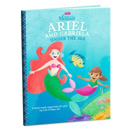 The Little Mermaid Ariel Personalized Book, , large