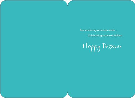Promises Fulfilled Passover Card,