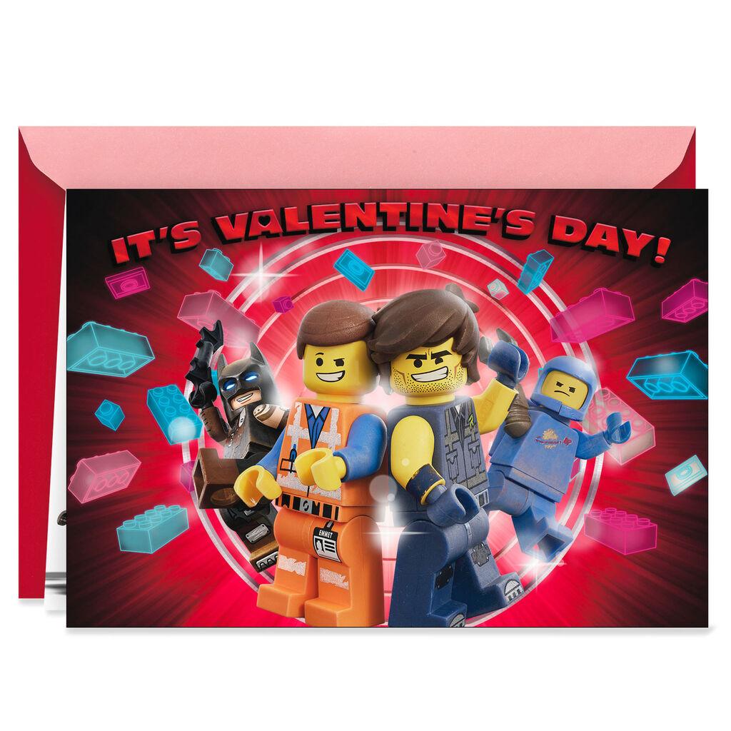 The Lego Movie 2 Valentine S Day Card Greeting Cards Hallmark