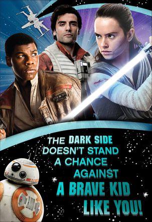 Star Wars™ Brave Kid Like You Musical Birthday Card