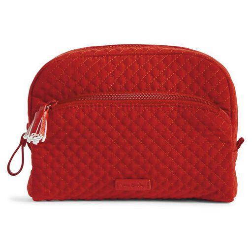 4ab7480eddfc Vera Bradley Iconic Medium Cosmetic Bag in Cardinal Red