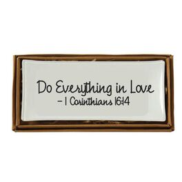 Mud Pie® Everything In Love Trinket Tray, , large
