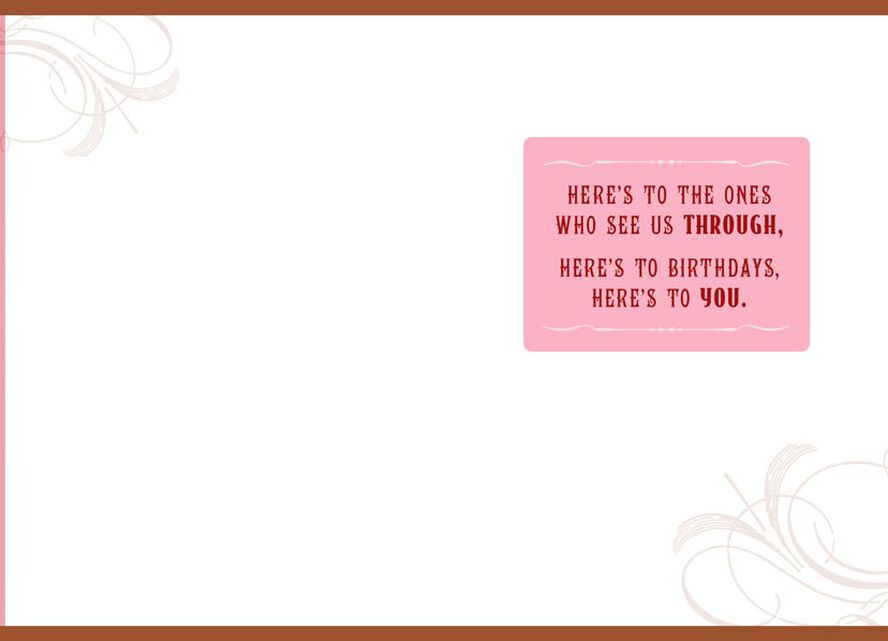 Wrinkles And Tinkles Sister Birthday Card