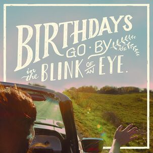 Enjoy Every Bit Musical Birthday Card