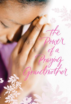 Thank You for Your Prayers, Grandmother Religious Birthday Card