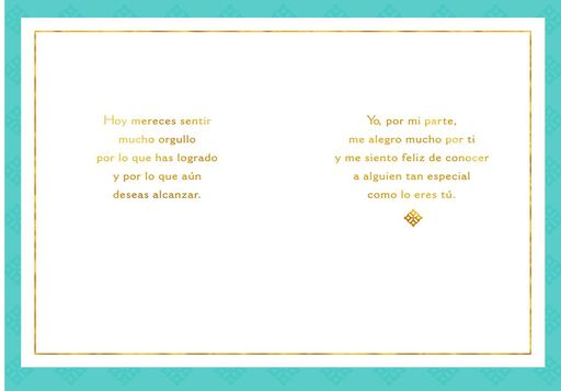 All You Have Done Spanish-Language Congratulations Card,