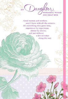 You're a Remarkable Mother, Mother's Day Card for Daughter,