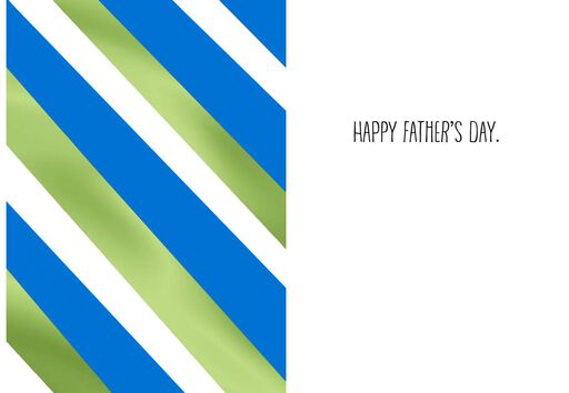 Bomb Pop Father's Day Card,