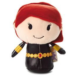 itty bittys® Black Widow Stuffed Animal, , large