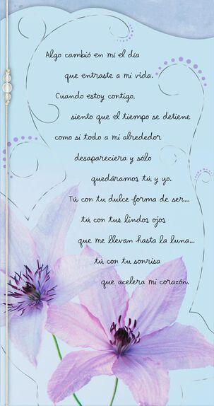 Love Changes Everything Spanish-Language Love Card