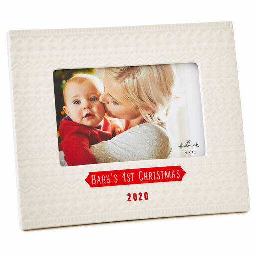 """My First Year Photo Frame three 2/"""" x 3/"""" Pictures Occasion Presents New Born Baby"""