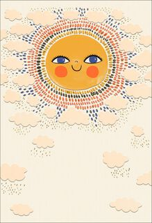 A Little Sunshine Care and Concern Card,