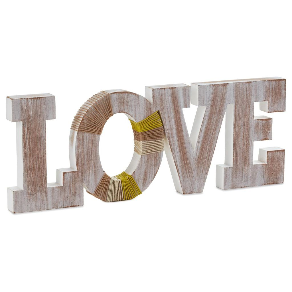Wooden Home Decor Love Sign