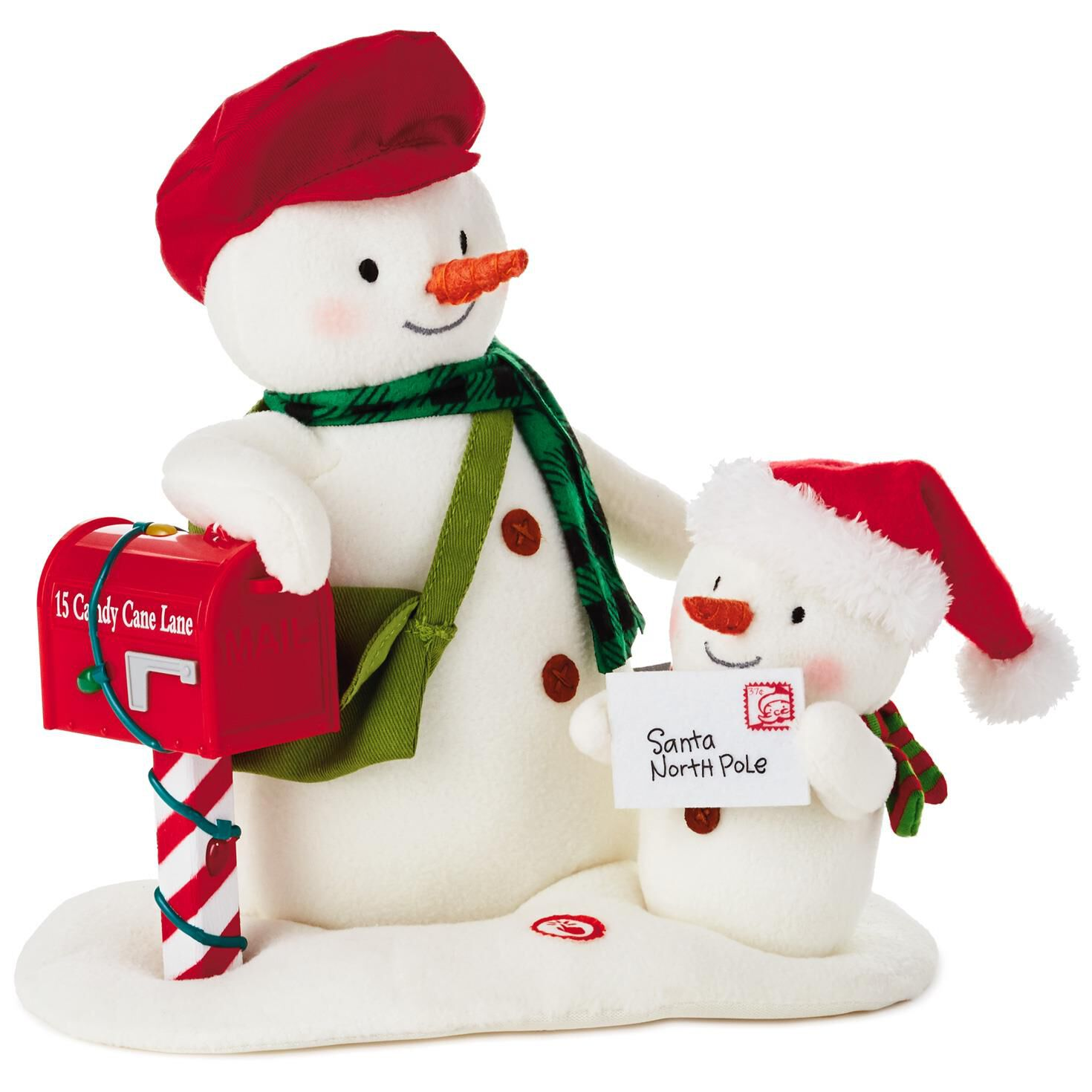 Special Delivery Snowmen Musical Stuffed Animal With Light and ...