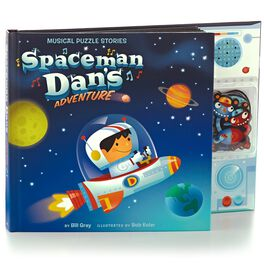 Spaceman Dan's Adventure Interactive Musical Puzzle Storybook, , large
