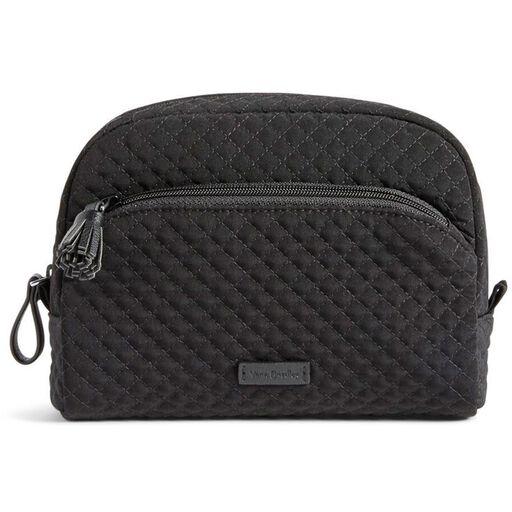 Vera Bradley Iconic Medium Cosmetic Bag in Classic Black, c2ed63b93e