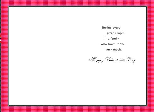 Hearts for Our Nephew and His Wife Valentines Day Card Greeting – Nephew Valentine Cards