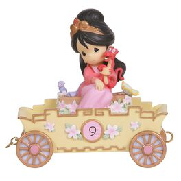 Precious Moments® Disney Mulan Figurine, Age 9, , large