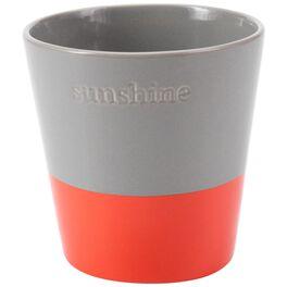 "Small Sunshine Coral Dip Pot, 5"", , large"