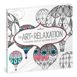 The Art of Relaxation—A Coloring Book by Hallmark Artists, , large
