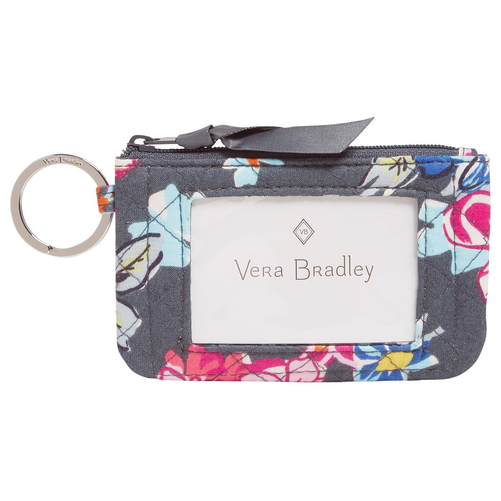 sports shoes d5024 443ff Vera Bradley Iconic Zip ID Case in Pretty Posies