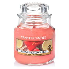 Strawberry Lemon Ice Small Jar Candle by Yankee Candle®, , large