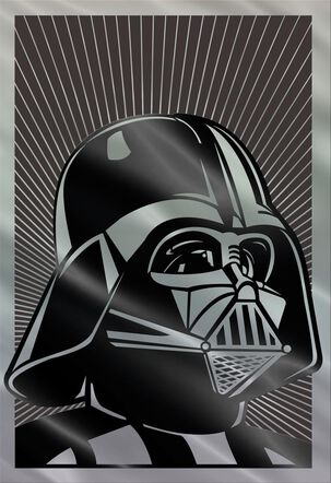 Star Wars™ Darth Vader™ Most Impressive Dad Father's Day Card