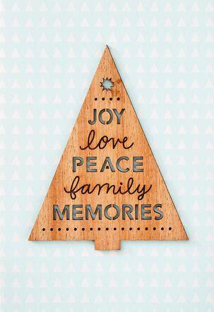 Family Memories Christmas Card