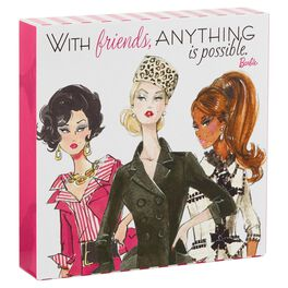 Barbie™ Anything Is Possible Plaque, , large