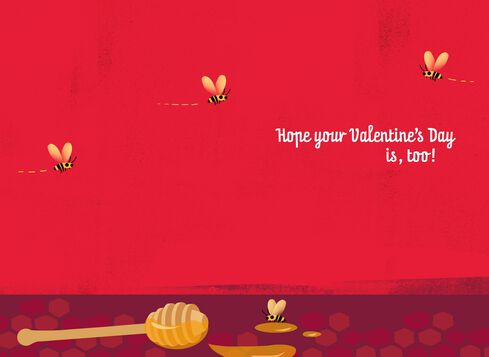 Sweet as Honey Musical Valentines Day Card Greeting Cards – Musical Valentines Day Cards