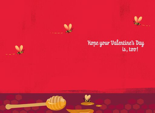 Sweet as Honey Musical Valentine's Day Card,
