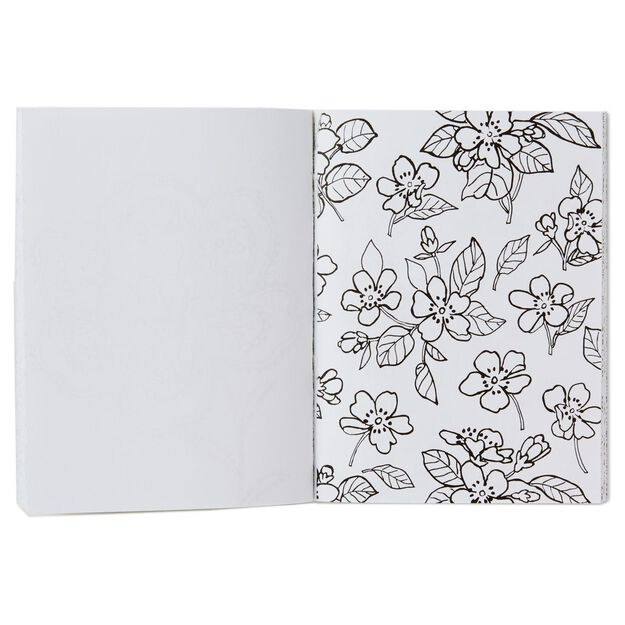 The Art Of Hallmark A Mini Coloring Book Flowers