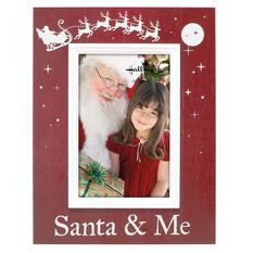 Santa Amp Me 4x6 Wood Malden Picture Frame 4x6 Picture