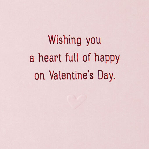 7494eae69a89 ... Wishing You a Heart Full of Happy Valentine's Day Card,