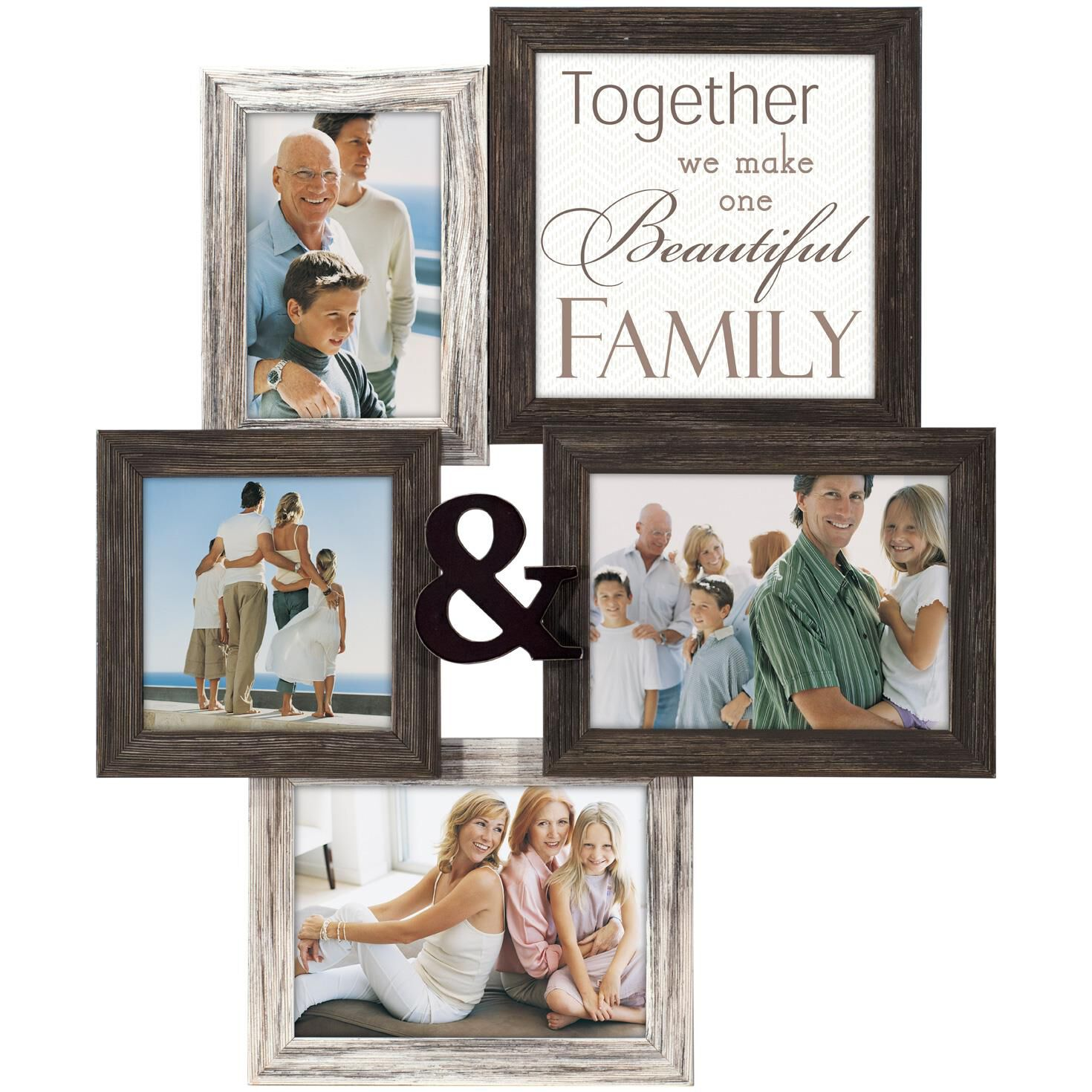 Together Malden 4-Opening Photo Collage Picture Frame - Picture ...