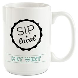 Sip Local Personalized Ceramic Mug, , large