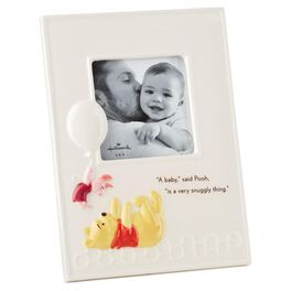 Winnie the Pooh Baby Ceramic Square Picture Frame, 4x4, , large